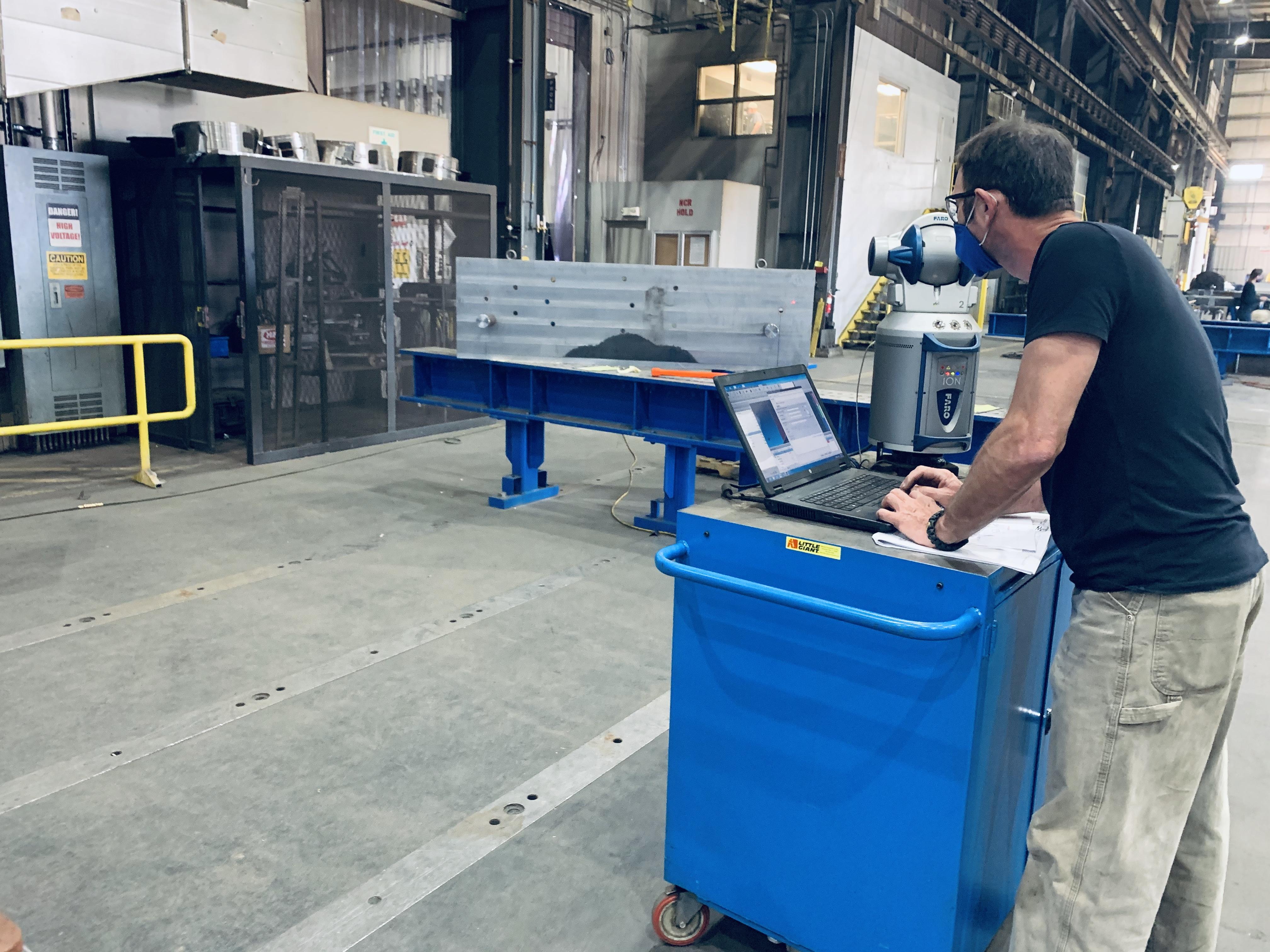 FARO Tracker Inspection