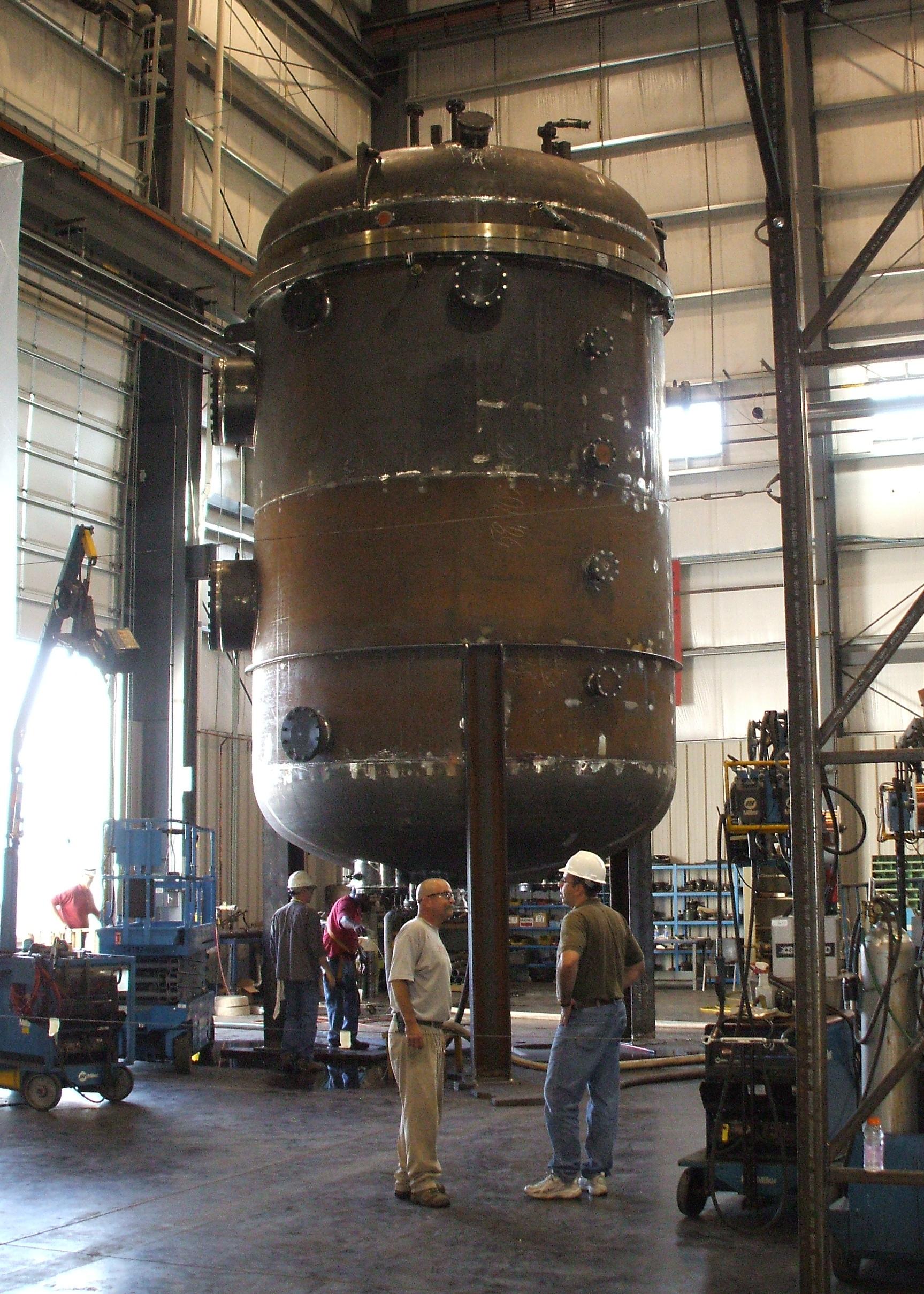 Goodrich Furnace Vessel Hydro