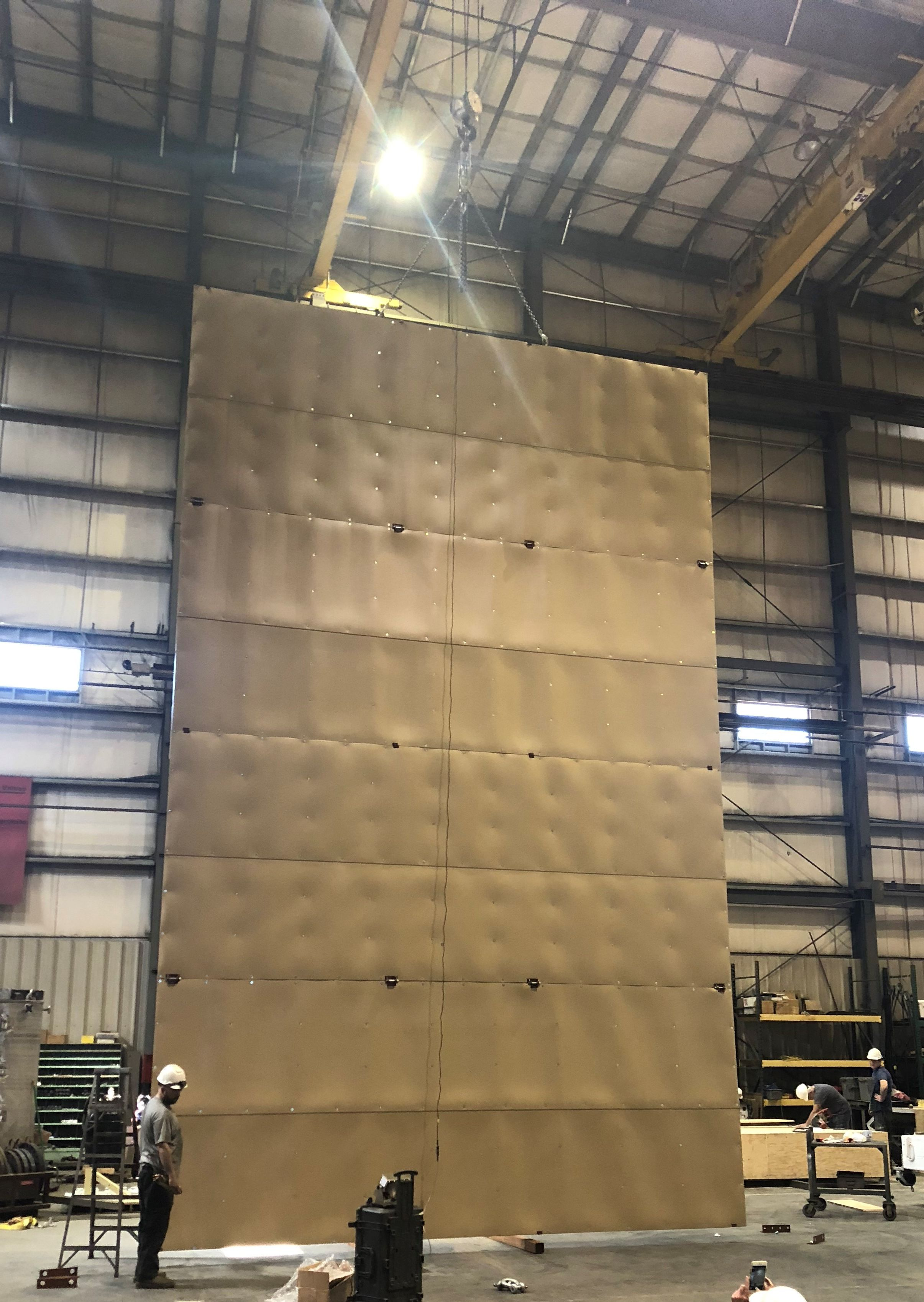 Sound wall panel asssmbly