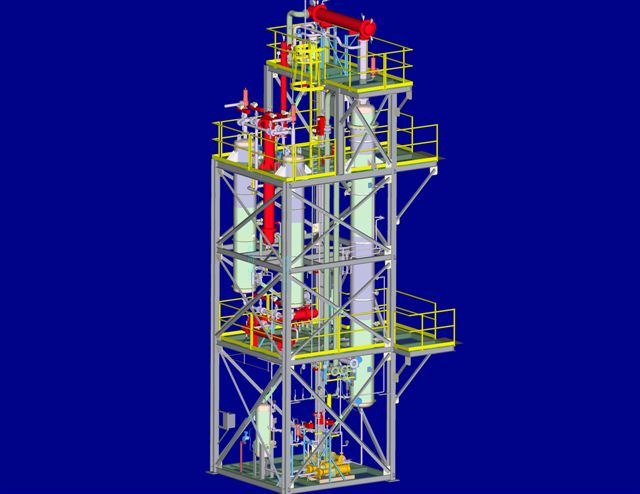 Tower Skid 3D Model