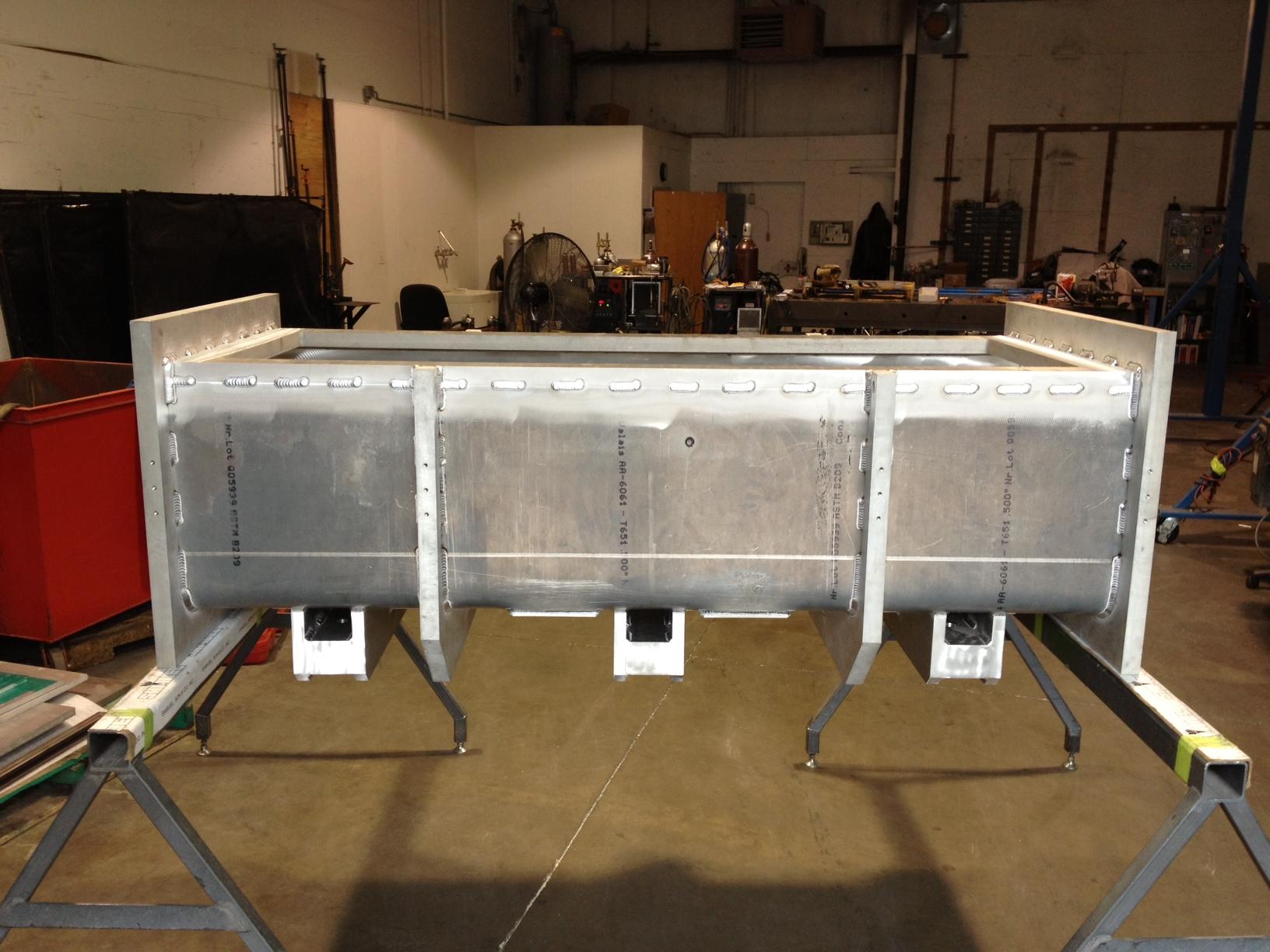 NIST VSANS Pre-Sample Vacuum Chamber