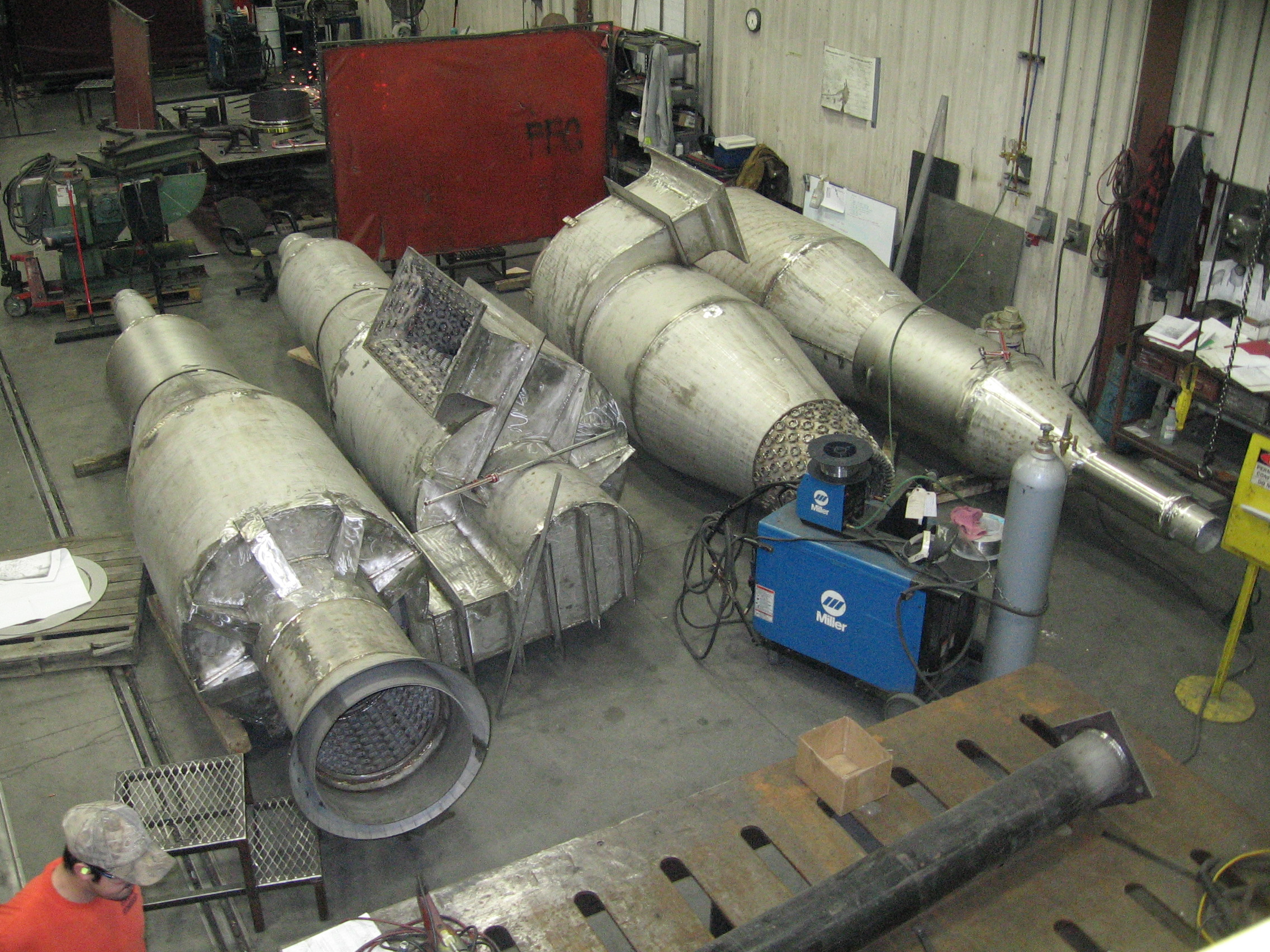 Stainless Steel Cyclone Fabrication