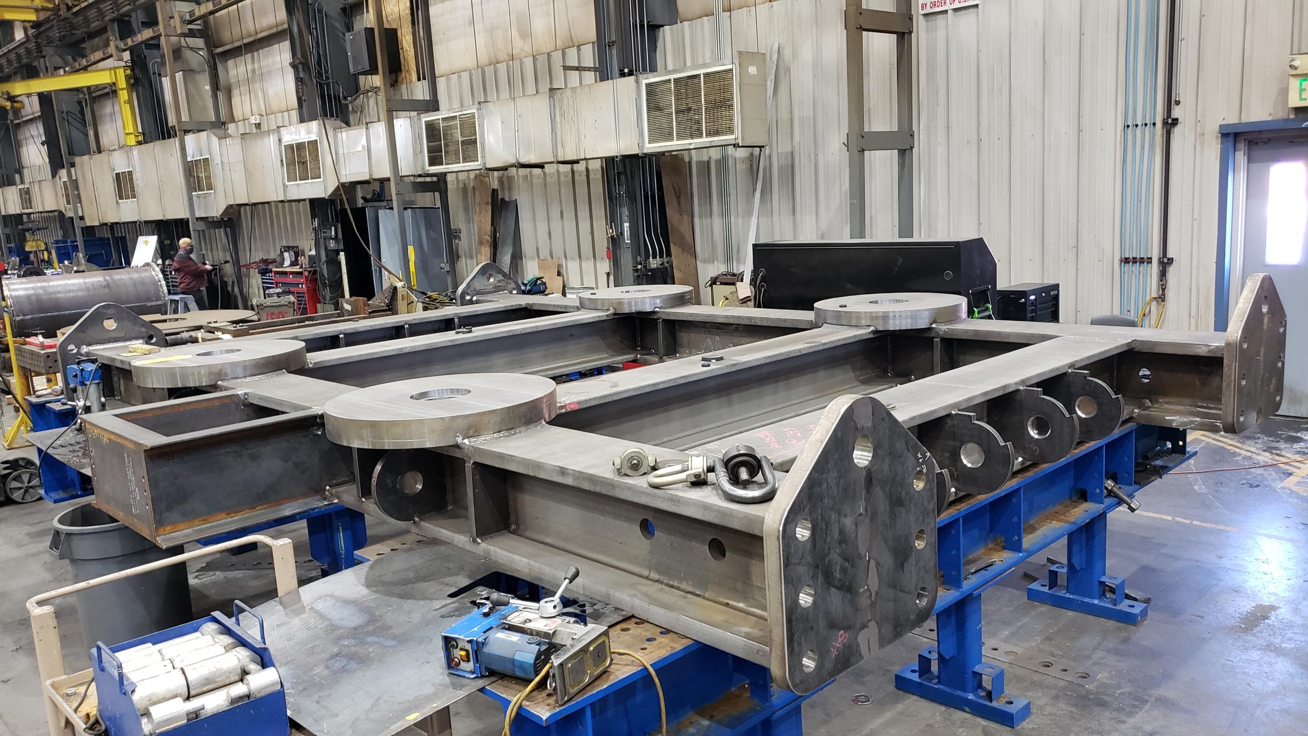 Heavy Weldment Fabrication